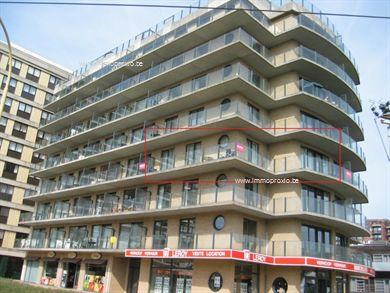 Staanplaats te koop onder de residentie Pieter Bortier.