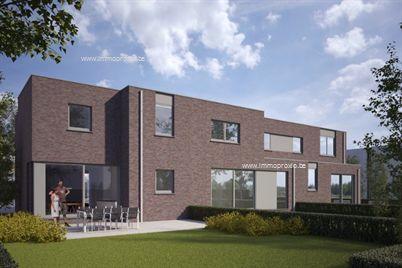 Prachtige ruime nieuwbouwwoning met centrale ligging te Melle, bestaande uit inkomhall, living met open keuken, berging, garage en tuin. Op de 1ste...