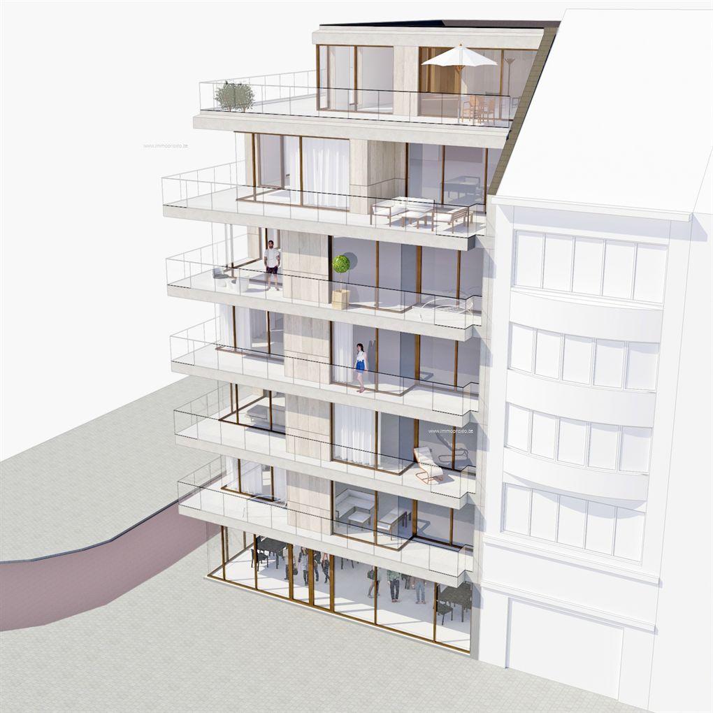 Nieuwbouw Appartement te koop in Oostende