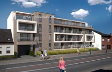 Nieuwbouw appartement op tweede verdieping met een ruime bewoonbare oppervlakte, een terras aan de voorzijde en een terras achteraan.</...