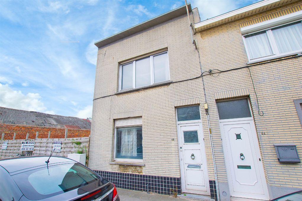 Woning te koop scharebrugstraat 42 blankenberge ref for Te renoveren huis te koop