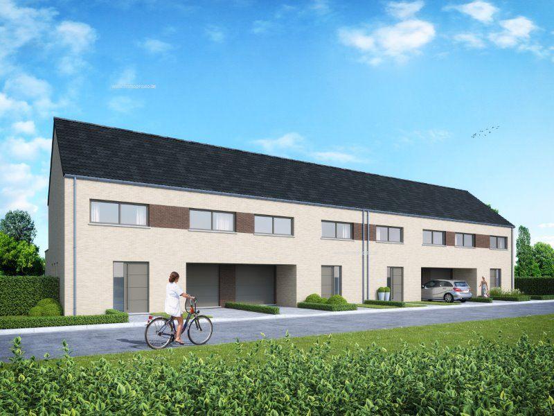 Nieuwbouw woning verkocht hellegat 7 oostakker ref for Huis te koop wommelgem