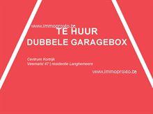 Garage/Garagebox te huur in Kortrijk