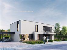 13 Maisons neuves a vendre à Evergem