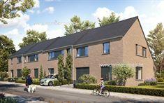 4 Maisons neuves a vendre à Zonnebeke