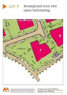 Nieuwbouw Bouwgrond te koop in Varsenare, Mariënhovedreef