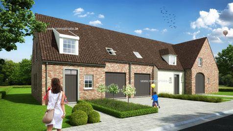 6 Nieuwbouw Huizen te koop Rekkem